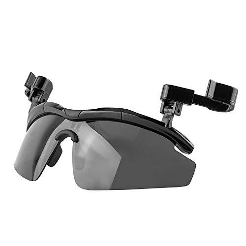 Teabelle Gafas de Sol Clip, Polarized Lenses Sombrero Visores Anti-Glare Clip-on Gafas...