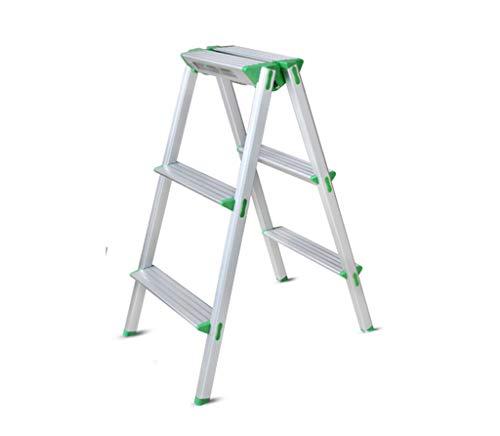 AA-stair bench LTDE Step Stool Step Sgabello, Scaletta in Alluminio Pieghevole scaletta Sgabello Step Stepol