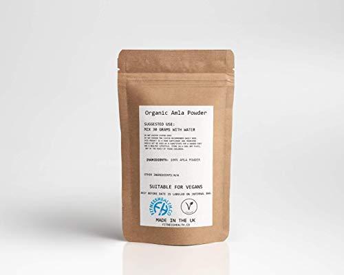 Organic Amla Powder 100g Rich in Antioxidant Vitamin C Alma - Supports Healthy Immune Function
