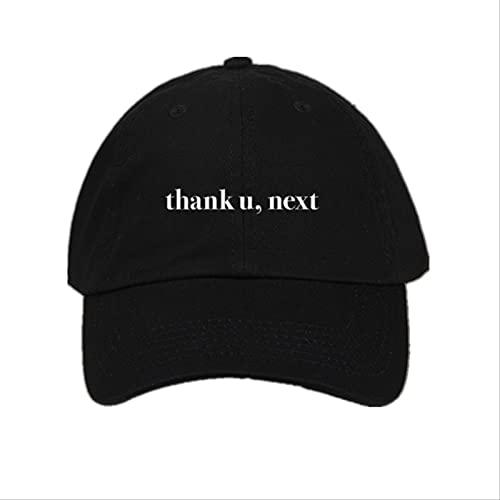 Baseball Kappe Brief Danke U, Nächste Baseballmützen Ariana Grande Stickerei Papa Hut Unisex Frauen Mann Hüte Neuestes Album Snapback