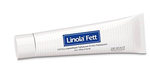 Linola Fett Creme Spar-Set 2x50g. Für sehr trockene, rissige, juckende Haut sowie bei Neurodermitis