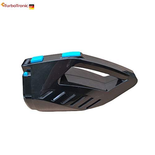 Ersatzakku schwarz für Akku Staubsauger Turbotronic LUX300, TT300 TT-500 TT-750, Grundgerät