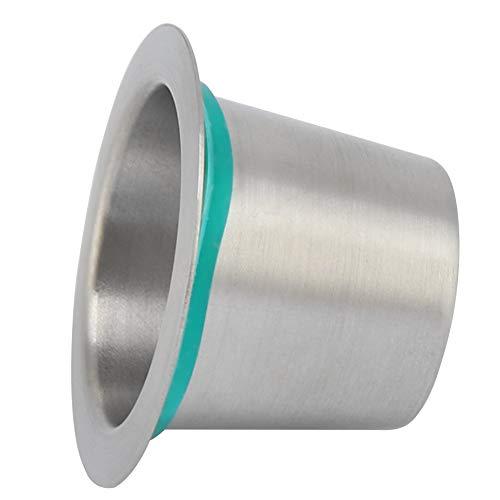 Wiederverwendbare Nespresso-Kapseln, Kaffeekapsel aus Edelstahl, nachfüllbare Metallkapseln Tasse Ersatz für Nespresso-Maschinen
