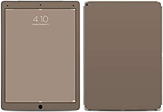 Solid State Flat Dark Earth Protector Skin Sticker Compatible with Apple iPad Pro 12.9'' (1st Gen) - Ultra Thin Protective Vinyl Decal Wrap Cover