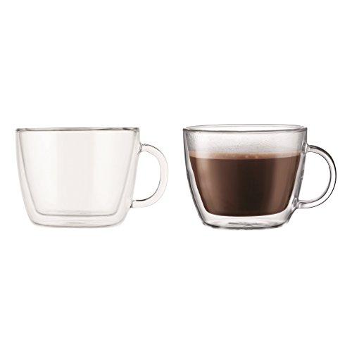Bodum Bistro Tazza per Caffé Latte 0,45 l, Set da 2