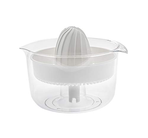 Ankarsrum Original White Plastic Citrus Press Attachment