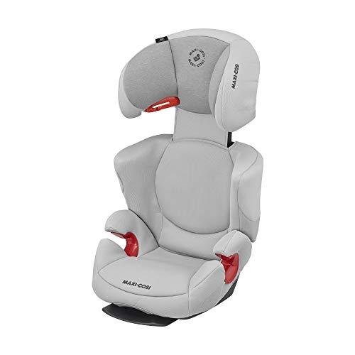Maxi-Cosi Rodi AirProtect (AP) Kindersitz, Mitwachsender Gruppe 2/3 Autositz (ca.15-36 kg) mit Ruheposition und Optimalem Seitenaufprallschutz, Nutzbar ab ca. 3,5 bis 12 Jahren, Authentic Grey (grau)