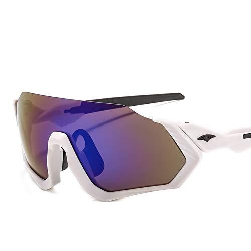 NSGJUYT Gafas de Sol polarizadas Ciclismo MTB Deportes Gafas Ciclismo Gafas de montaña de la Bicicleta UV400 de la Bici Unisex de los vidrios de Ciclo Gafas (Color : C1)