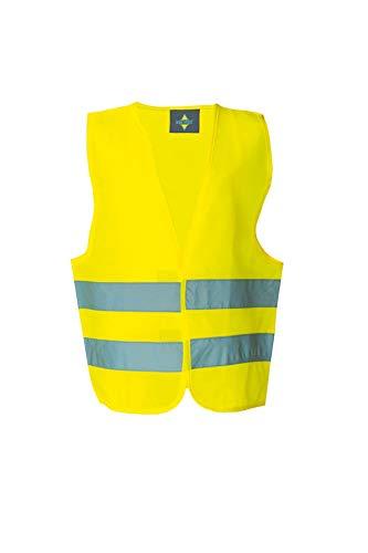 Korntex KWG100XS Warnweste Standard - Kinder, gelb, XS
