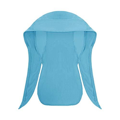 JIAHG Sport Bandana Cap Hat schnell-trocknend, Anti-UV Schutz, Damen Herren Kopftuch Piratenmütze Bikertuch Stirnband Fahrrad Radsport Motorrad Kopfbedeckung Mütze - 6