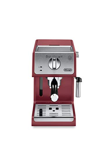 De'Longhi ECP3220R 15 Bar Espresso Machine with Advanced Cappuccino System, 11.4 x 9.5 x 14.2...