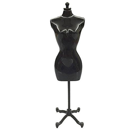 jiacheng29Mini Modell Ständer Kleidung Kleidung, Bademantel Mannequin Display Halterung für Barbie Puppe