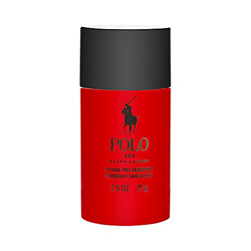 Polo Red by Ralph Lauren for Men 2.6 oz Deodorant Stick Alcohol-Free