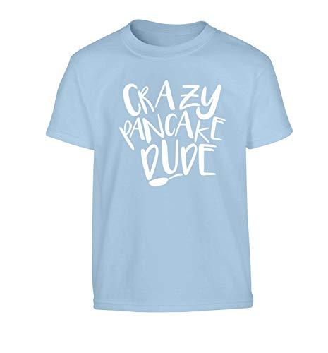 Flox Creative Kinder T-Shirt Crazy Pancake Dude Gr. X-Large 86/ 91 cm, hellblau