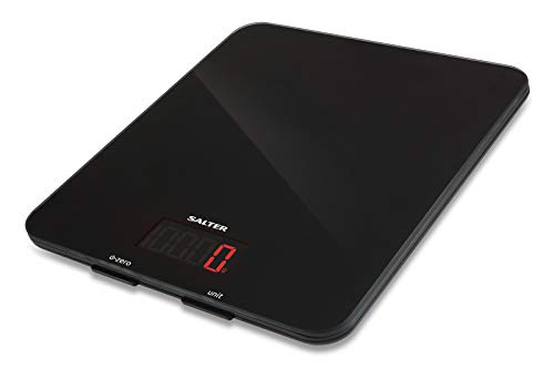 Salter 1160 BKDR Glass Electronic Digital Kitchen Scales