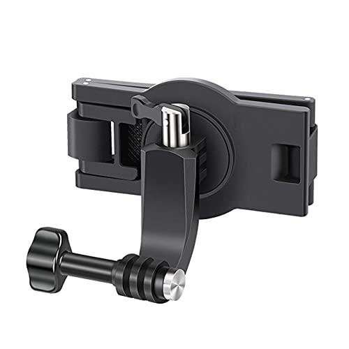 Soporte giratorio 360 Dedree para mochila compatible con GoPro Hero 9/8/7 para Insta360 y otras cámaras de acción