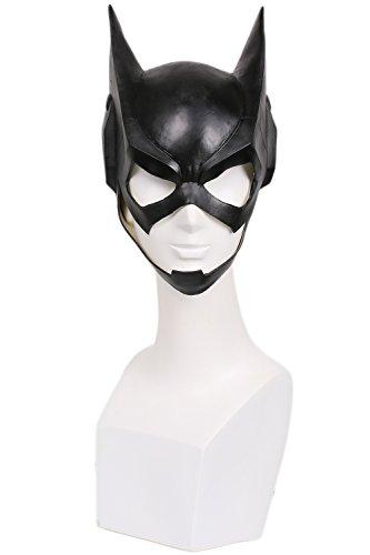Halloween Maske Cosplay Kostüm Latex Helm Schwarz voll Kopf Maske für Damen Verrückte Kleid Merchandise Replik Zubehör