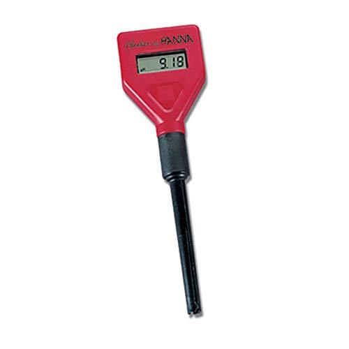 Hanna Instruments HI98103 1 - Comprobador de pH con electrodo HI 1270 y pilas
