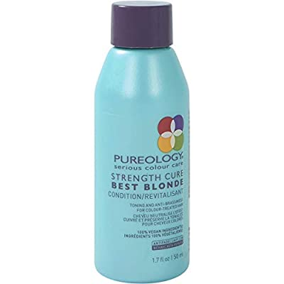 Pureology Strength Cure Best Blonde Purple Conditioner | Restore & Tone | Sulfate-Free | Vegan