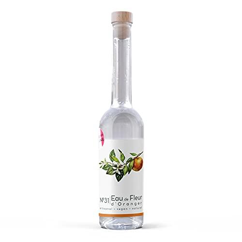 N.31 Eau de Fleur d'Oranger - parfum floral de fleurs d'oranger distillées - pour parfumer et sublimer tous vos plats, boissons, desserts et le café blanc