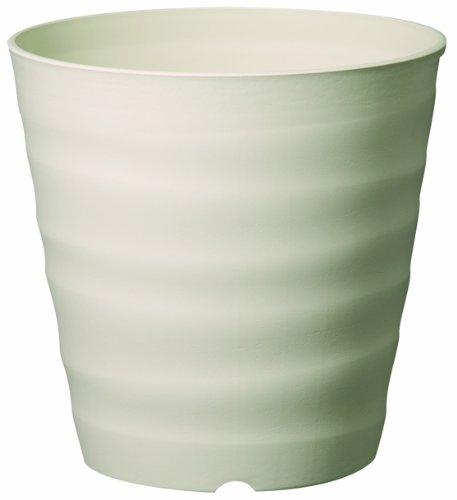 大和プラスチック (ACTOR) 鉢・プランター フレグラーポット 30型 大きめサイズ アイボリー 奥行30×高さ30×幅30cm