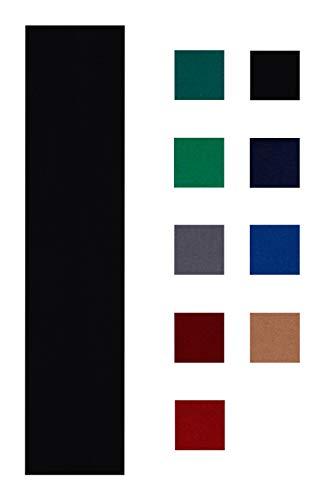 Iszy Billiards Performance Grade Pool–Billardtuch–Filz für EIN 7Fuß Tisch wählen Sie Englisch Grün, Burgunderrot, blau, Navy blau, schwarz, rot, Licht Grau, oder Hellbraun, schwarz
