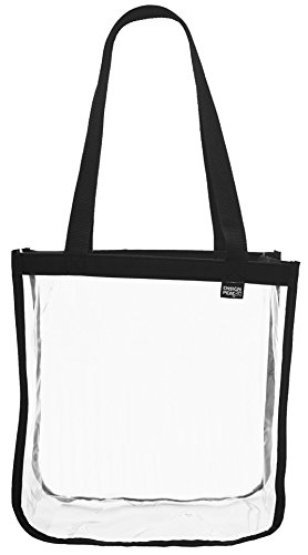 Ensign Peak NCAA, NBA & NFL Compliant Open Stadium Tote (Black)