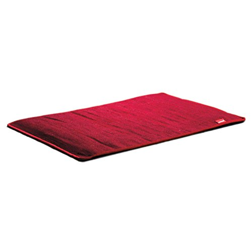 Fireproof Rot 50x75cm Schreibtisch Teppich Büro Fußheizmatte Teppichheizung
