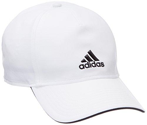 adidas Herren C40 Climalite Kappe, White Black, OSFM