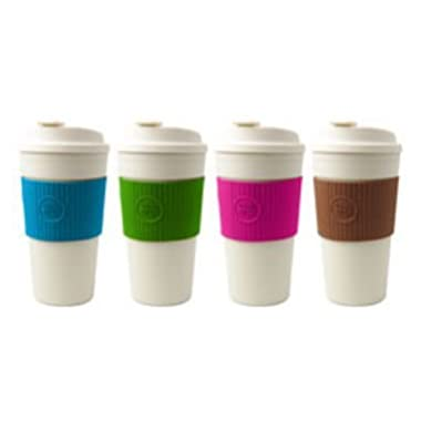 Cool Gear 15oz. Eco2 Go Mug with Assorted Color Band