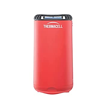 Thermacell Patio Shield Mosquito Repeller  Highly Effective Mosquito Repellent for Patio  No Candles or Flames DEET-Free Scent-Free Bug Spray Alternative  Includes 12-Hour Refill