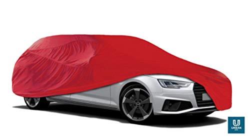 The Urban Company - Funda de coche para interior para Ferrari F12, color rojo, transpirable, suave,