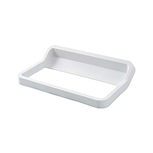 Shoe Storage Rack Pegue el Estante de Zapatos en la Pared y pegue la Bastidor de Zapatos en el Bastidor de Zapatillas de Pared de baño. for Bathroom (Color : White, Size : One Size)