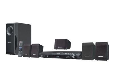 Panasonic SC PT 150 EG-K Heimkino-System (DivX-zertifiziert) schwarz