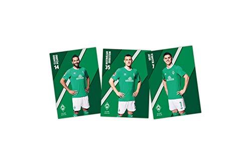 SV Werder Bremen Autogrammkarten 2019/2020 ** ohne Unterschriften **