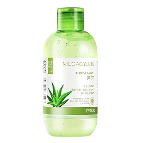 Gel hidratante Aloe Vera 220 g Aloe Vera Gel Loción Hidratante Crema Facial