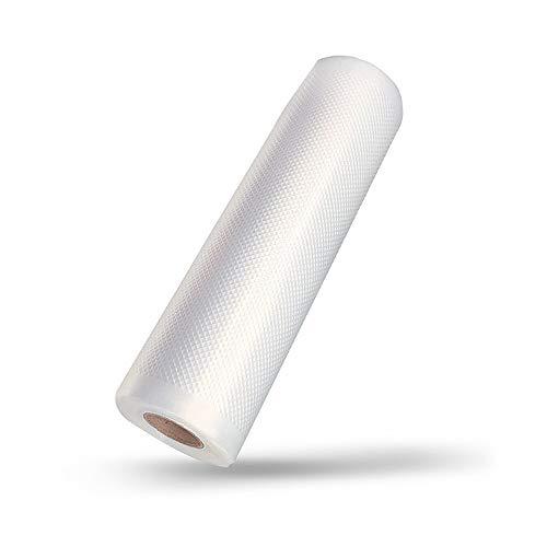 Gobesty Vakuumier Beutel, 2 Rolle 28 x 500cm Lebensmittel Vakuumbeutel, für alle Vakuumiergerät, Extrem Reißfest, BPA...