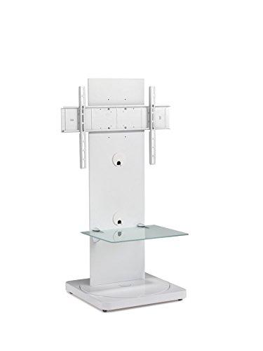 Preisvergleich Produktbild Gisan FS-101 BL Standfuß für TV Geräte mit einer Bildschirmdiagonalesn bis 165 cm (65 Zoll),  schwenkbar (+ / -15°),  höhenverstellbar (915 bis 965mm),  Traglast max. 35kg,  VESA max. 600x400,  weiß