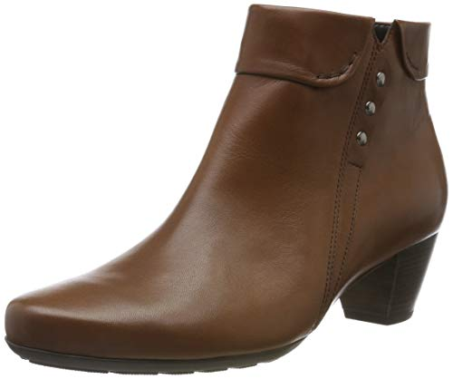 Gabor Shoes Comfort Sport, Botines Mujer, Marrón (Whiskey (Micro) 52), 38.5 EU