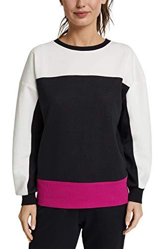 ESPRIT Sports COO Sweatshirt Sudadera, 001/negro, S Mujer