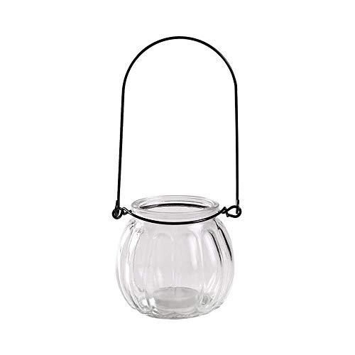 CNCYHP creatieve opknoping transparant glas vaas kleine fles bloempot eenvoudige hydroponische bloempot binnen tuinieren huisdecoratie duurzaam en mooi