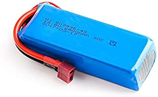 1pc Upgrade 14.8v 2800Mah 4S Li-po Battery for FT010 FT011 RC Boat Toy (T Plug)