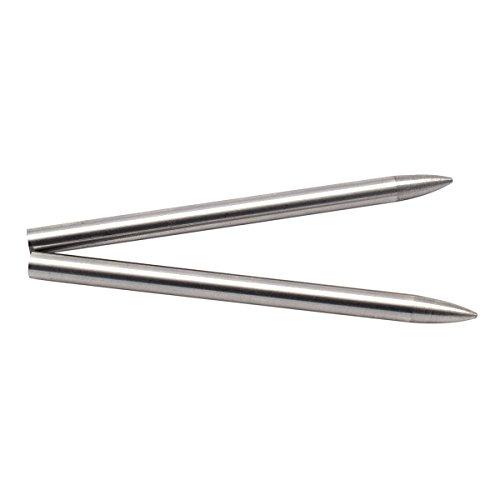 Agujas para tejer cuerdas Paracord 550, de acero inoxidable, 3 en 1, Paquete de 2