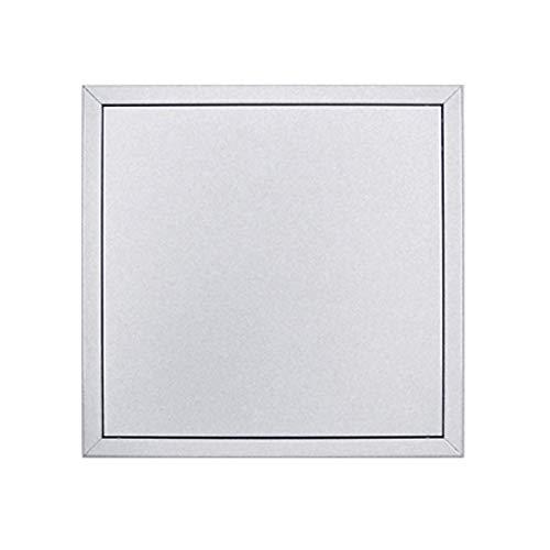 Revisionstür Softline Comfort 600x600mm weiß beschichtet mit verdeckten Druckverschlüssen