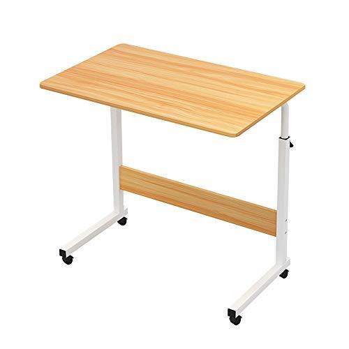 Home&Selected Furniture Laptopstandaard in hoogte verstelbaar 72 - 94 cm 4 rollen (kleur: C, grootte: 80 x 40 cm)