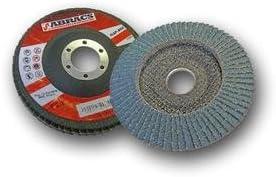 Clarik Abracs Zirconium disque /à lamelles 125/mm x 22/mm Grain X60/Qt/é 2