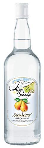 Alpenschnaps | Steinbeisser | 1 x 1l | Williamsbirne | pures Alpenglück im Glas