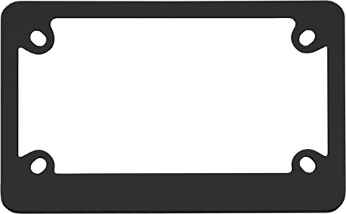 Cruiser Accessories 77350 MC Neo Classic Motorcycle License Plate Frame, Black