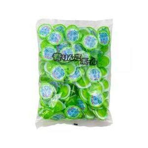 江口製菓 ゼリー やおきん(や) 青りんごボール 100入