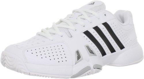 Adidas Men's Adipower Barricade Team 2.0-M, Running White/Black/Light Onyx, 7 M US